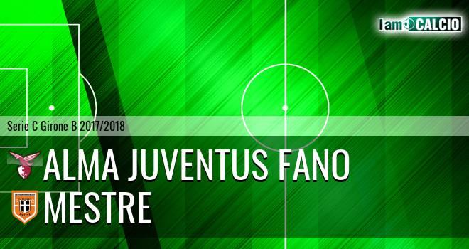 Alma Juventus Fano - Mestre