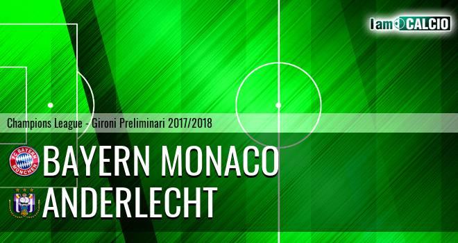 Bayern Monaco - Anderlecht