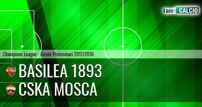 Basilea 1893 - CSKA Mosca