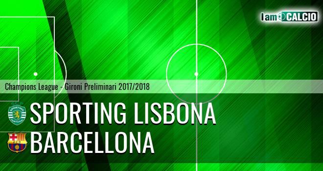 Sporting Lisbona - Barcellona