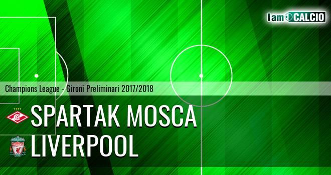 Spartak Mosca - Liverpool