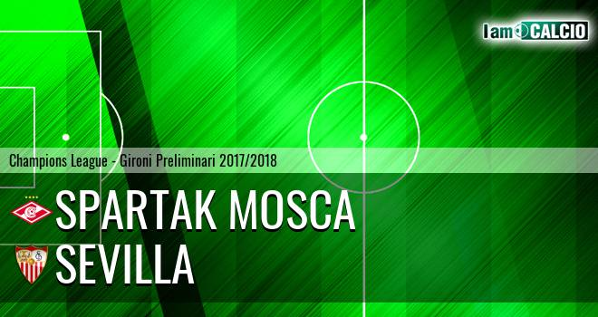 Spartak Mosca - Siviglia