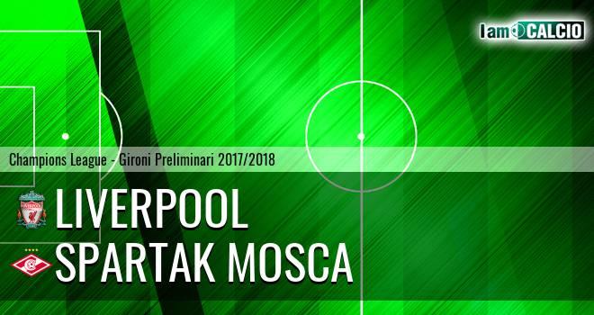 Liverpool - Spartak Mosca
