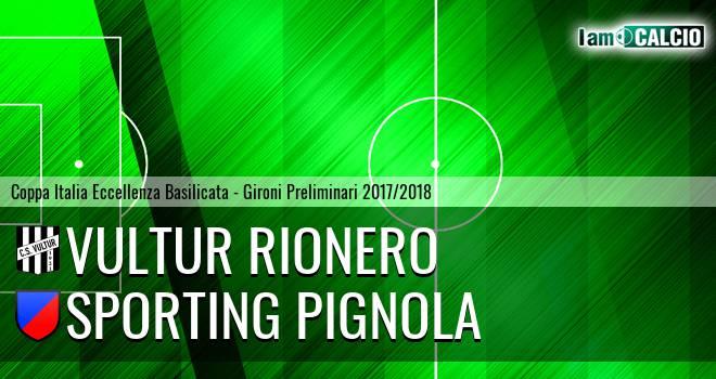Vultur Rionero - Sporting Pignola