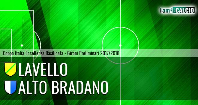 Lavello - Alto Bradano