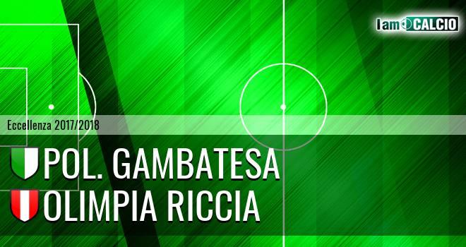 Pol. Gambatesa - Olimpia Riccia