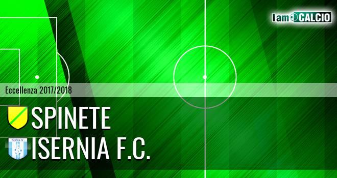 Spinete - Isernia F.C.