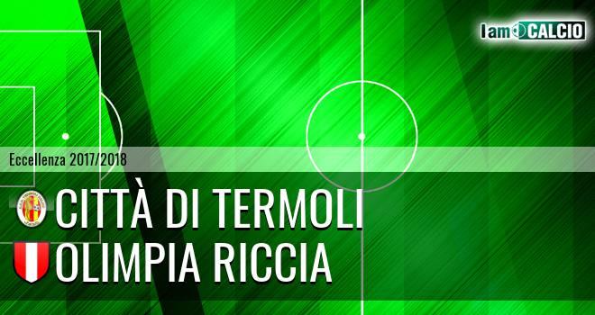 Città di Termoli - Olimpia Riccia
