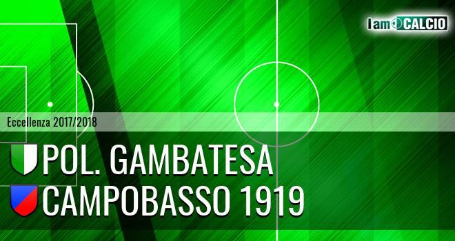 Pol. Gambatesa - Campobasso 1919