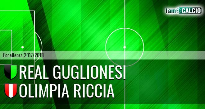 Real Guglionesi - Olimpia Riccia. Cronaca Diretta 18/02/2018