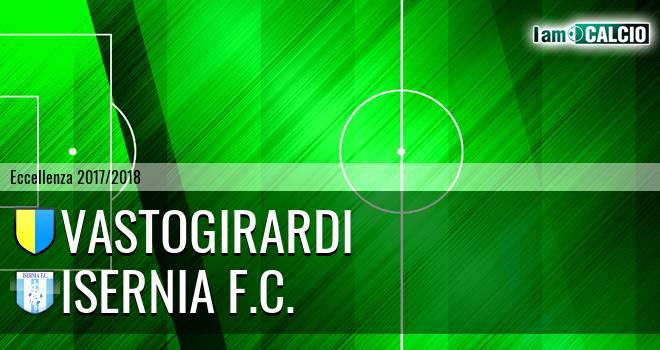 Vastogirardi - Isernia F.C. 1-0. Cronaca Diretta 17/03/2018