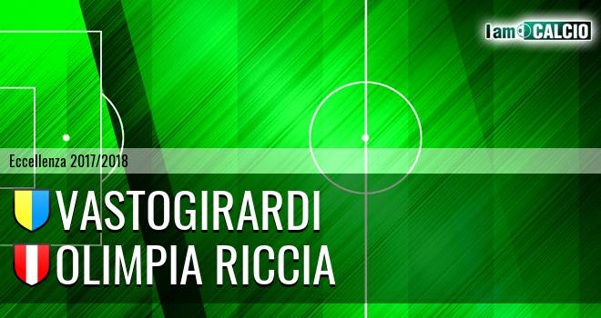 Vastogirardi - Olimpia Riccia 3-0. Cronaca Diretta 07/04/2018