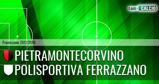 Pietramontecorvino - Polisportiva Ferrazzano 1-0. Cronaca Diretta 15/04/2018