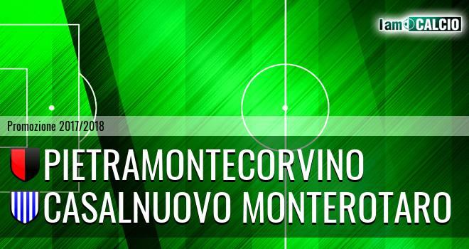 Pietramontecorvino - Casalnuovo Monterotaro