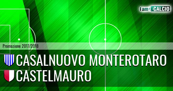 Casalnuovo Monterotaro - Castelmauro Calcio 1986