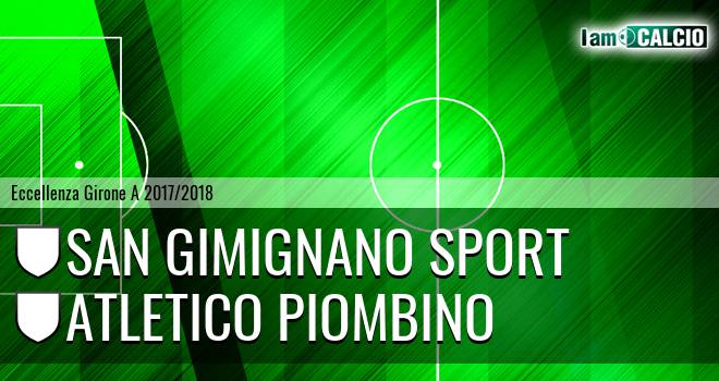 San Gimignano - Atletico Piombino
