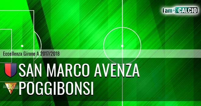 San Marco Avenza - Poggibonsi