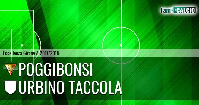 Poggibonsi - Urbino Taccola
