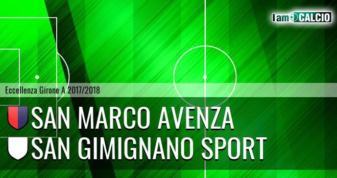San Marco Avenza - San Gimignano