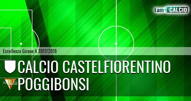 Calcio Castelfiorentino - Poggibonsi