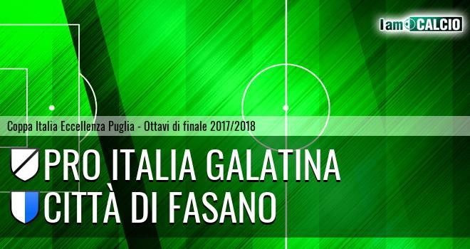 Pro Italia Galatina - Città di Fasano