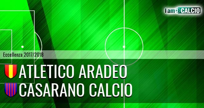 Atletico Aradeo - Casarano Calcio