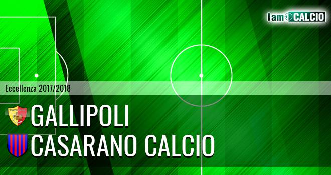 Gallipoli - Casarano Calcio