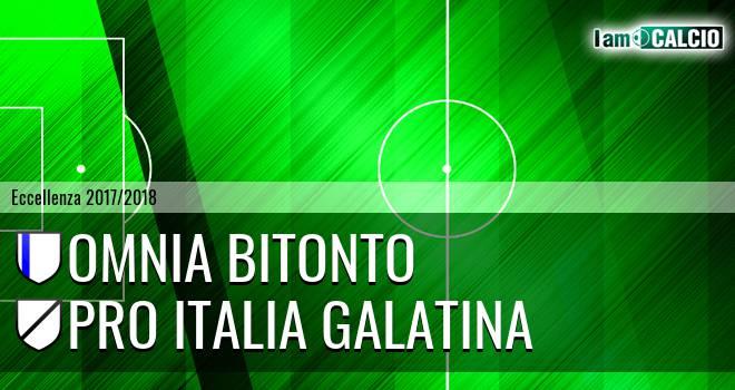 Omnia Bitonto - Pro Italia Galatina