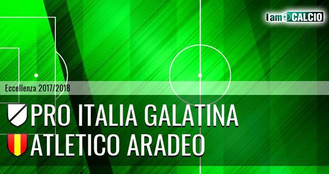 Pro Italia Galatina - Atletico Aradeo
