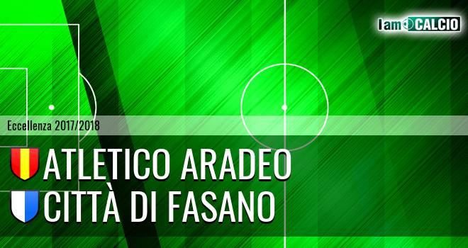 Atletico Aradeo - Città di Fasano
