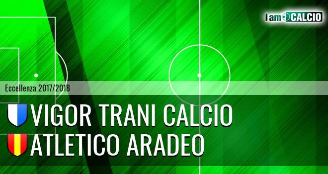 Vigor Trani Calcio - Atletico Aradeo