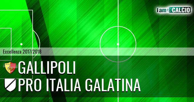 Gallipoli - Pro Italia Galatina