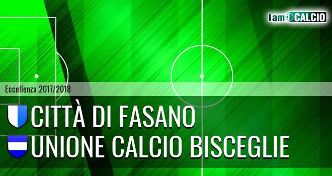 Città di Fasano - Unione Calcio Bisceglie
