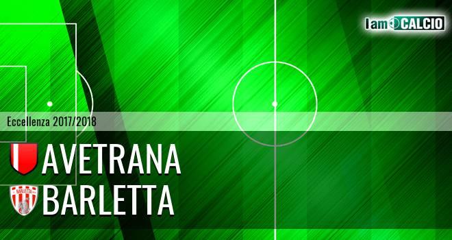 Avetrana - Barletta 1-0. Cronaca Diretta 29/03/2018