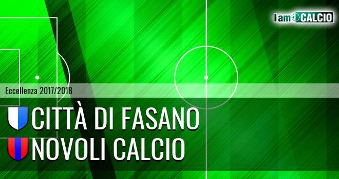Città di Fasano - Novoli Calcio