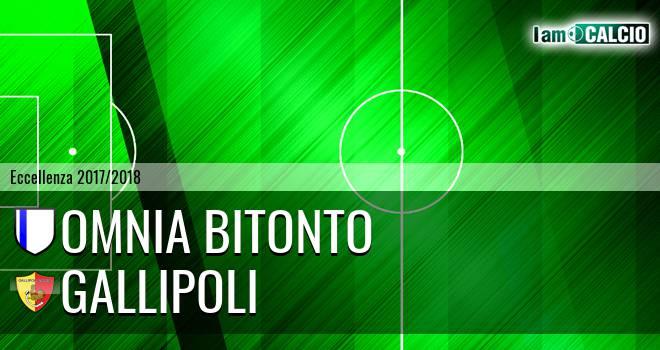 Omnia Bitonto - Gallipoli