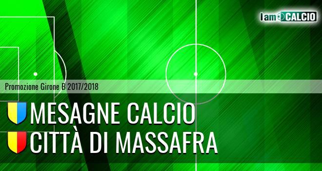 Mesagne Calcio - Città di Massafra