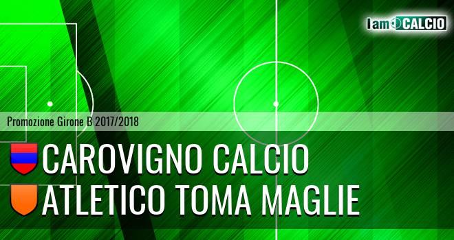 Carovigno Calcio - Atletico Toma Maglie