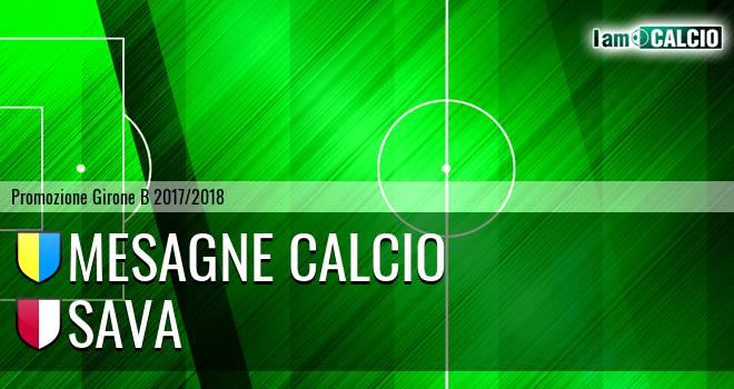 Mesagne Calcio - Sava