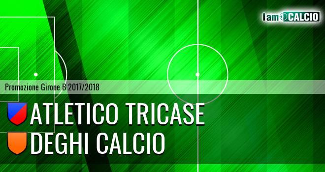 Atletico Tricase - Deghi Calcio