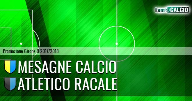 Mesagne Calcio - Atletico Racale
