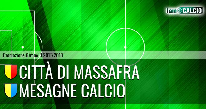 Città di Massafra - Mesagne Calcio