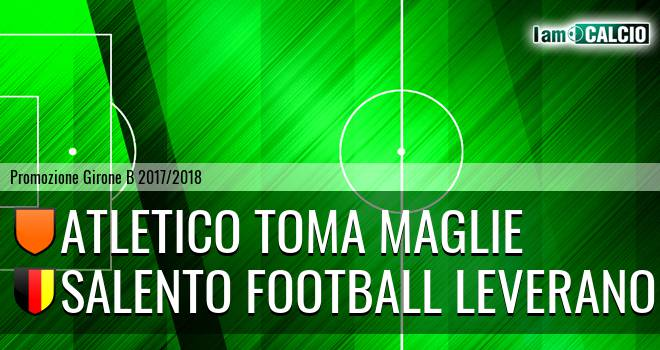 Atletico Toma Maglie - Salento Football Leverano