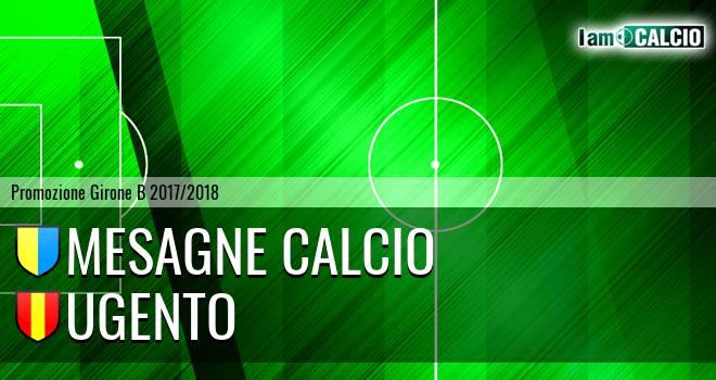 Mesagne Calcio - Ugento