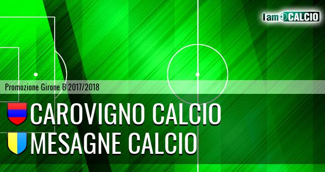Carovigno Calcio - Mesagne Calcio