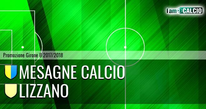 Mesagne Calcio - Lizzano