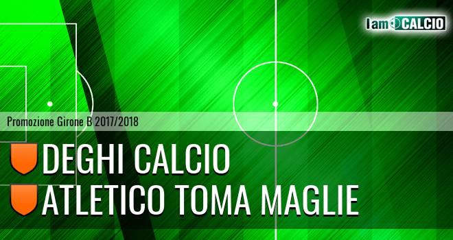 Deghi Calcio - A. Toma Maglie