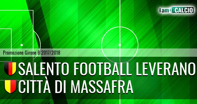 Salento Football Leverano - Città di Massafra