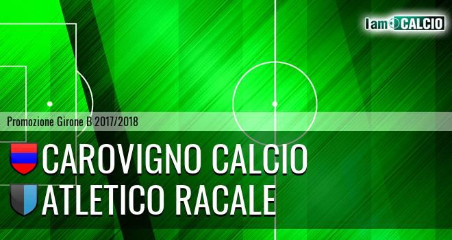 Carovigno Calcio - Atletico Racale