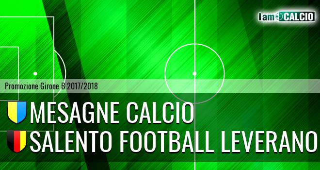 Mesagne Calcio - Salento Football Leverano